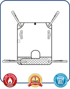 Mackworth Classic Universal Hoist Sling with Loop Attachments