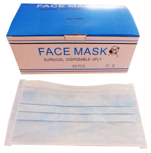 Naturelle Surgical Disposable 3 Ply Face Mask (50pk)