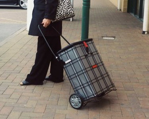 Shop a Seat Escort - Shopping Trolley/Basket doubles as a Seat