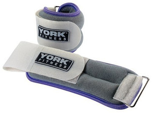 York Soft Ankle/Wrist Weights 2 x 0.5kg