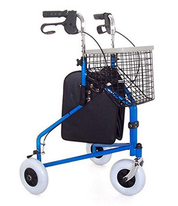 Z-Tec Folding Tri Walker (Basket, Bag & Tray Included!) - Choose your colour!