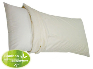 GoFlor Waterproof, Anti-Mite Breathable Bamboo Pillow Case