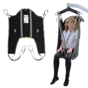 Oxford High Back Sling With Padded Legs
