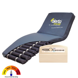 Alerta Emerald Med to High Risk Dynamic Overlay Air Mattress System