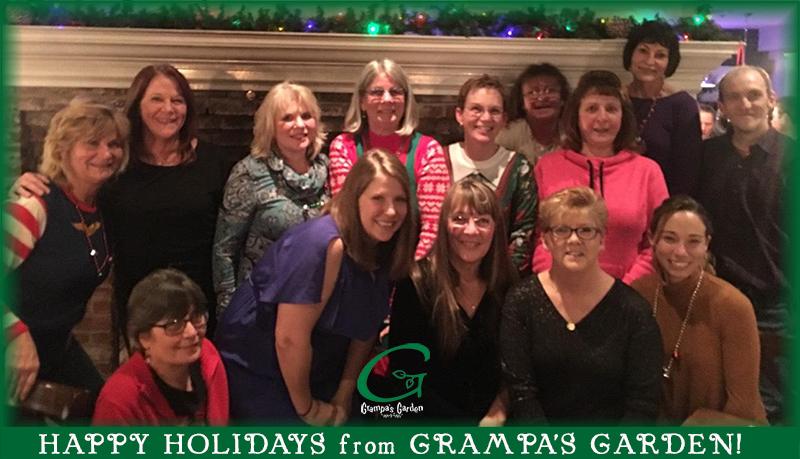 Happy Holidays from Grampa's Garden