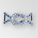 1.625 x 0.75 inch Rhinestone Connector, Crystal AB Silver, ss12 (30% applied; limited - time special)