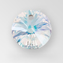 14mm Rivoli Pendant, unfoiled, Crystal color