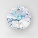 14mm Rivoli Pendant, unfoiled, Crystal color