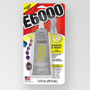 E6000 Jewelry & Bead Glue, 1oz/29.5ml with four precision tips