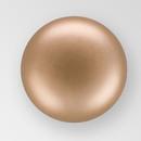 3mm PRECIOSA Glass Cabachon in Bronze Color