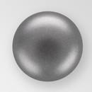 3mm PRECIOSA Glass Cabachon in Dark Gray Color