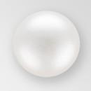 6mm PRECIOSA Glass Cabachon in White Color