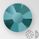 ss20 BLUE FLARE - PRECIOSA MAXIMA Flat Back, 15 facets, foiled