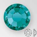ss20 BLUE ZIRCON - PRECIOSA MAXIMA Flat Back, 15 facets, foiled