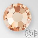 ss20 GOLDEN HONEY - PRECIOSA MAXIMA Flat Back, 15 facets, foiled