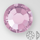 ss20 LIGHT AMETHYST - PRECIOSA MAXIMA Flat Back, 15 facets, foiled