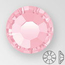 ss20 LIGHT ROSE - PRECIOSA MAXIMA Flat Back, 15 facets, foiled