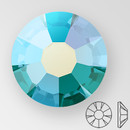 ss20 BLUE ZIRCON AB - PRECIOSA MAXIMA Flat Back, 15 facets, foiled