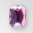 21x15mm Acrylic Octagon Sew-On Stone, Vitrail Medium color