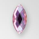 26x12mm Acrylic Navette Sew-On Stone, Vitrail Medium color