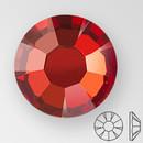 ss20 RED FLAME - PRECIOSA MAXIMA Flat Back, 15 facets, foiled