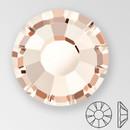 ss20 LIGHT GOLD QUARTZ - PRECIOSA MAXIMA Flat Back, 15 facets, foiled