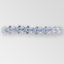 6.5 inch Rhinestone Connector, 10x5mm Navettes, ss15.5, ss18