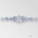 6.5 inch Rhinestone Connector, Crystal, Silver, 10x5mm Navettes, ss6.5, ss15.5, ss20, ss34