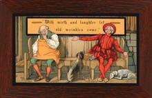 Taber Prang Print - Mirth and Laughter Framed