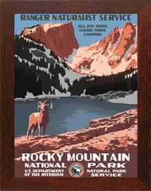 Rocky Mountain National Park Framed Poster
