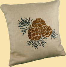 Pinecone - Medium Brown
