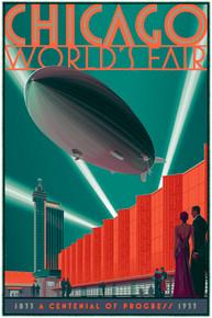 Chicago Zeppelin Variant Poster