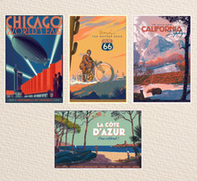 Complete Regular Set of 4 Posters - FREE SHIPPING!