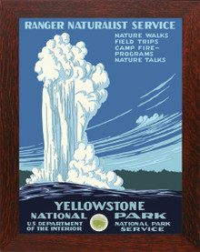 Yellowstone National Park Framed Poster