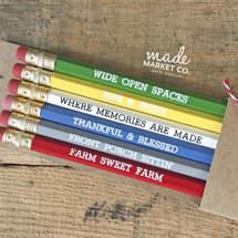 Farm Sweet Farm Pencil Set