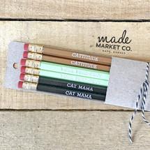 Cattitude Pencil Set