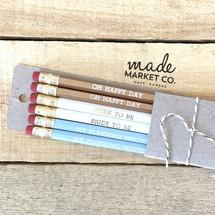 Bride To Be Pencil Set