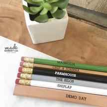 Magnolia Farmhouse Pencil Set