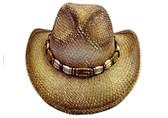 Raffia Cowboy Hat  NEW!!!