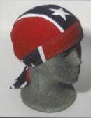 Rebel Flag Head Wrap