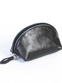 COIN PURSE.  CONTRAST PIPING.  COTTON LINING.  ZIP CLOSURE.  IMPORT.