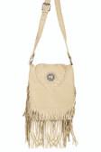 Full Flap with Concho Handbag