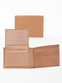LEATHER PASS CASE BILLFOLD.  BILL DIVIDER.  CREDIT CARD POCKETS.  VERTICAL POCKETS.  REMOVABLE LEATHER PASS CASE.  IMPORT.