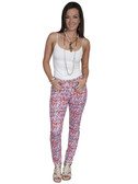 E108-MEDIUMUL-LARGE SIZE  MISSY CUT COTTON BLEND JEGGINS.  32 INCH INSEAM TAPERED LEGS..