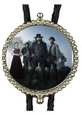 Hell on Wheels Bolo Tie