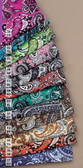 Western Scarf Unisex Wild Rag Paisley Silk, avaiable in 12 colors