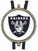 Oakland Raiders Bolo Tie