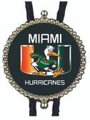 Miami Hurricanes Bolo Tie