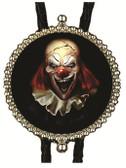 Happy Halloween Scary Clown Bolo Tie