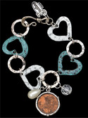 Justin Heart Bracelet